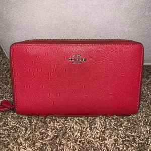 Large coach wallet